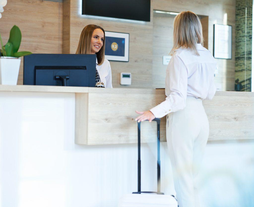 Digitale bezoekersregistratie met document beheer systeem