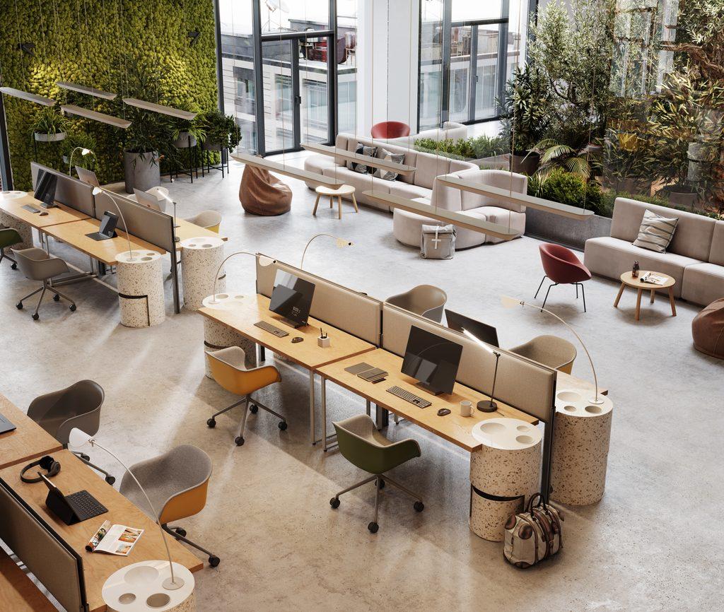 Hybride werken blijft: richt je kantoor in met online werkplekbeheer